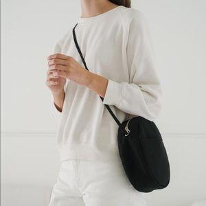 BAGGU medium canvas circle purse